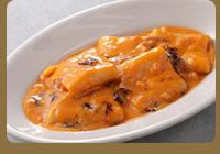 パッケリ 海老のクリームソース