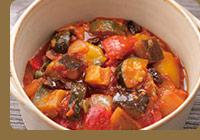 南イタリア伝統料理カポナータ