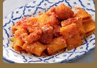 リガトーニ 〜粗挽きソーセージトマトソース〜